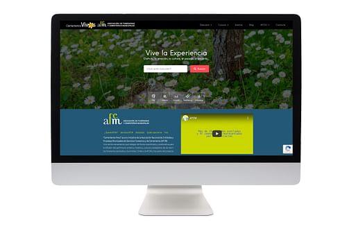 Web Cementerios Vivos (AFCM) - Creación de Sitios Web