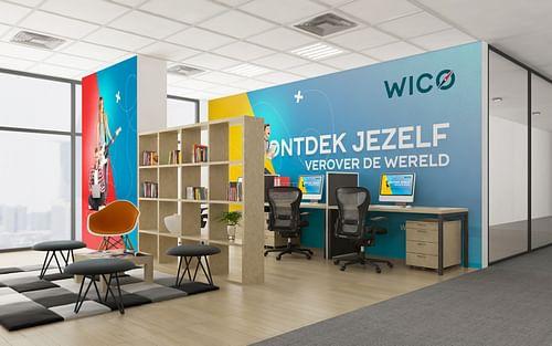 Scholengemeenschap WICO wordt een hip merk - Ontwerp