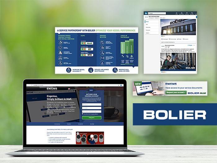 Marketingondersteuning voor Bolier