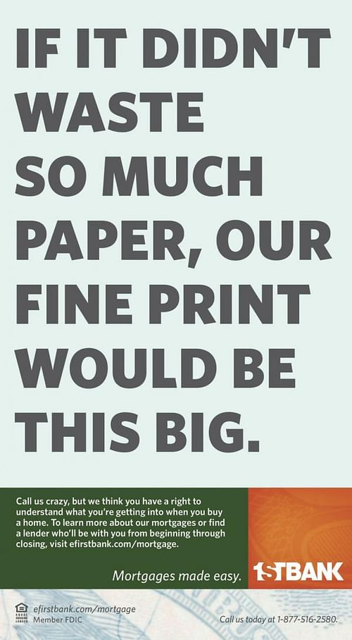 Waste of Paper - Advertising