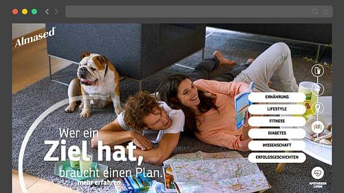 Almased. Relaunch der Unternehmenswebseite. - Markenbildung & Positionierung