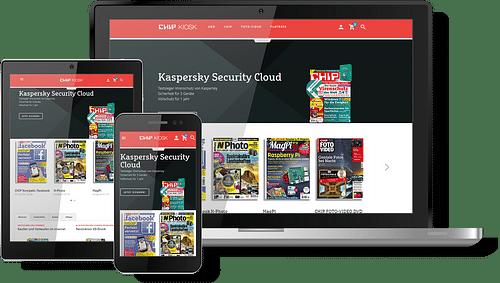 E-Commerce-Lösungen für E-Paper, DVD-Inhalte, F... - Webanwendung