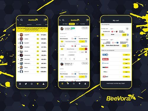 Beevora app - Application mobile
