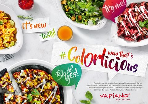 Vapiano - Wow, that's #colorlicious!