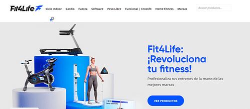 Estrategia gestión de mark/com Fit4Life - Deporte - Publicidad
