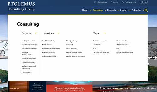 Webdesign Ptolemus - Website Creatie