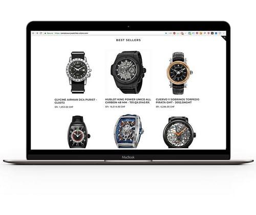 Swiss Luxury Watches - E-commerce