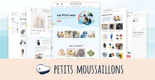 Petits Moussaillon - E-commerce