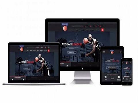 Aegean League | Sport & Entertainment Web Design