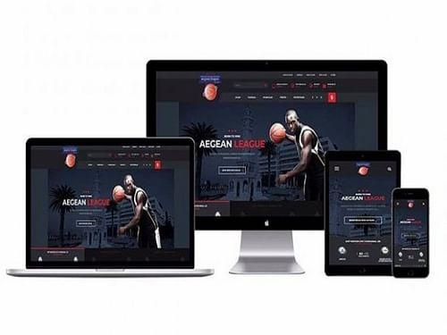 Aegean League | Sport & Entertainment Web Design - Website Creation