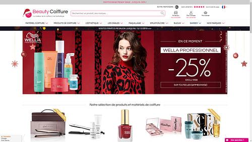 Création site e-commerce Beauty coiffure - Création de site internet