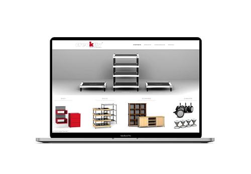 Onlineshop für einen premium HiFi Hersteller - Webseitengestaltung