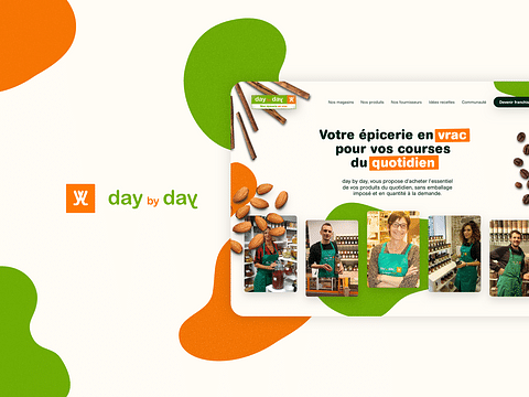 Day by day - Website