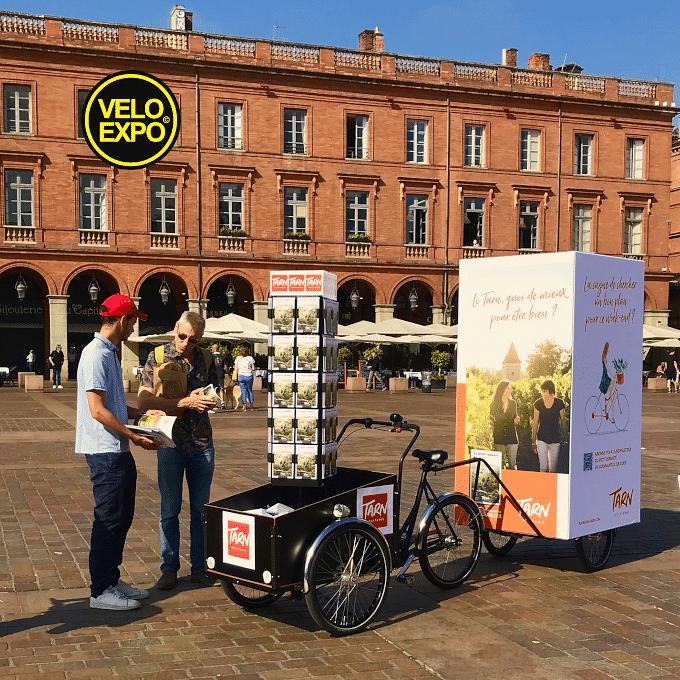 VELO EXPO pour L'OFFICE DU TOURISME DU TARN