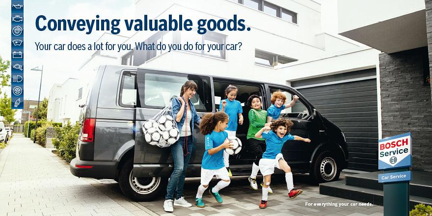 Bosch Car Service internationale Imagekampagne.