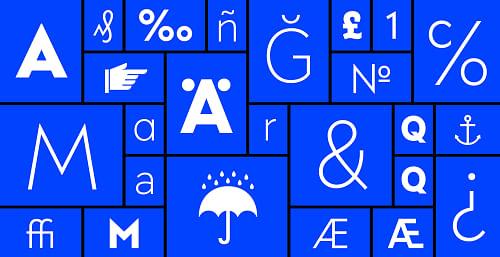 FF Bauer Grotesk - Grafikdesign
