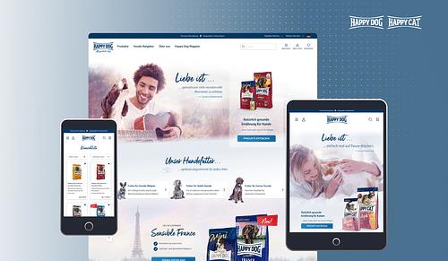 Shop-Relaunch für Happy Dog & Happy Cat - Webseitengestaltung