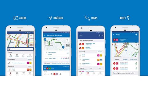 STIB/MIVB Mobile App - Web Applicatie