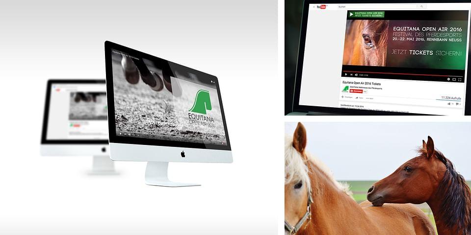 Equitana Pferdemesse -  Videoerstellung
