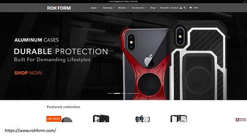 Website - Application mobile
