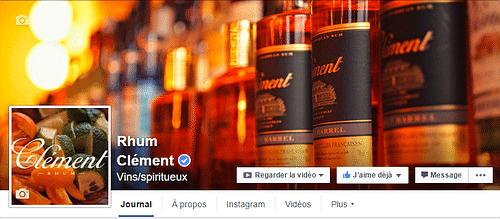 Rhum Clément - Réseaux sociaux