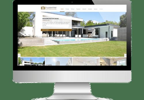 Immo website - Website Creatie