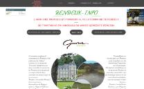 Refonte de site RENDEUX-INFO - Création de site internet
