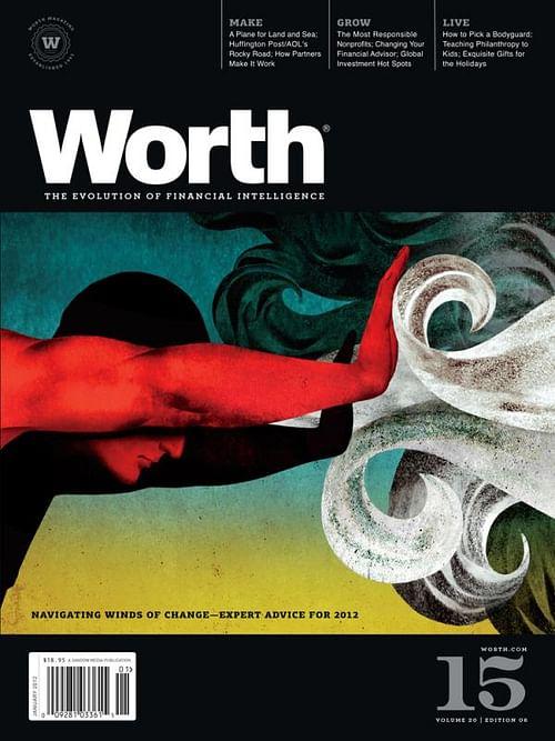 WORTH MAGAZINE COVER SERIES, 1 - Graphic Design