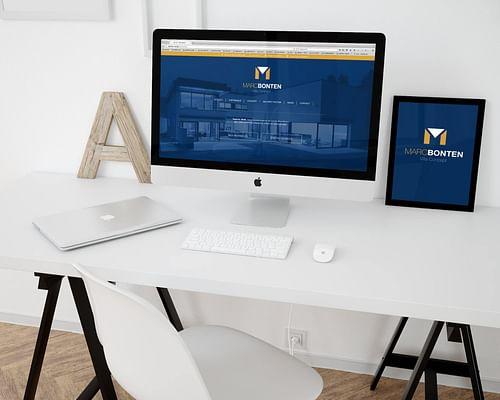 Marc Bonten : Une stratégie online complète - Création de site internet
