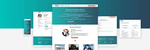 Freelance Biotech - Création de site internet