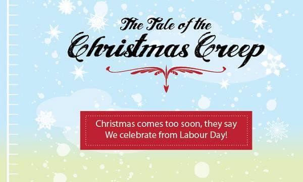 Agency Christmas Card, The Tale of the Christmas Creep
