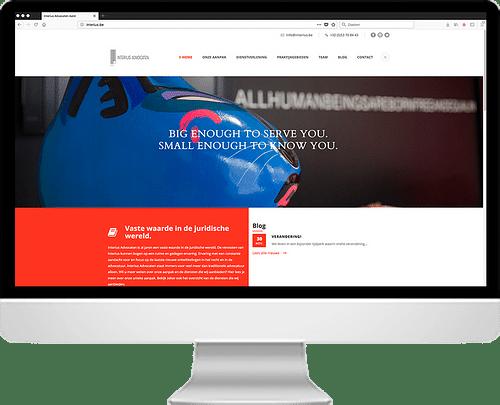 Webdesign for lawyer - Web analytics / Big data