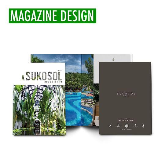 SUKOSOL - Magazine Design