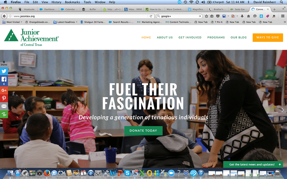 Junior Achievement Website