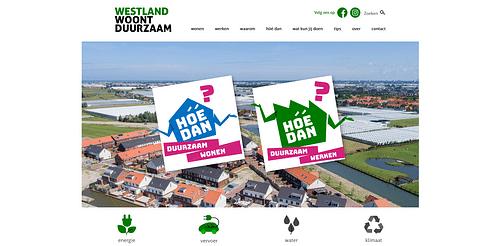 Westland Woont Duurzaam - Branding & Positionering