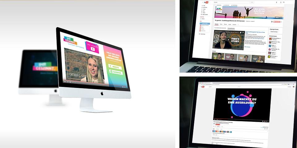 IHK Ihr gewinnt - Online Video Kampagne