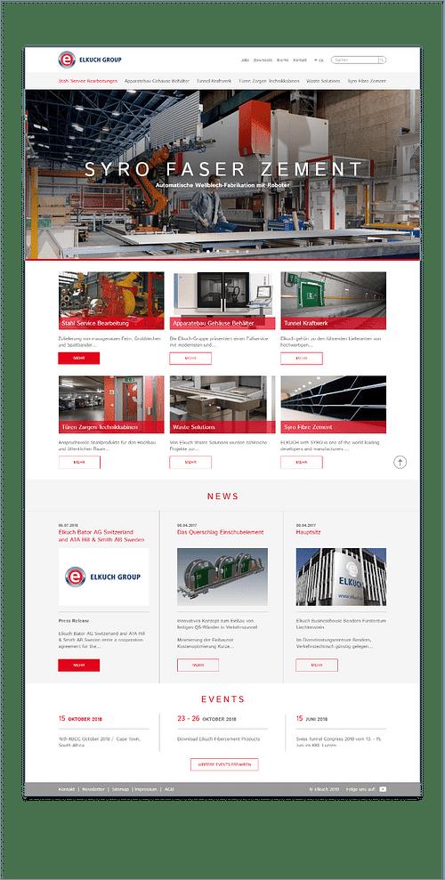 Elkuch - Création de site internet