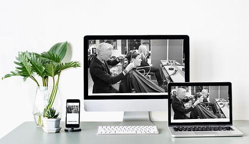 Site salon de coiffure - Création de site internet