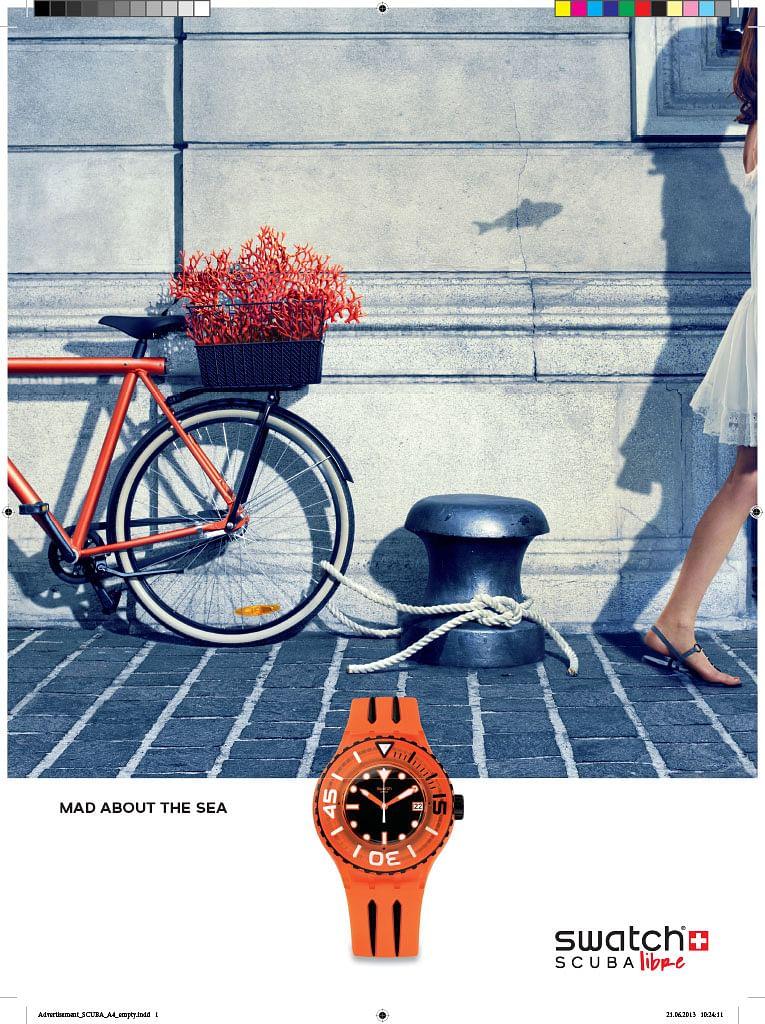 Swatch Cosmopolitan & Esquire Ad