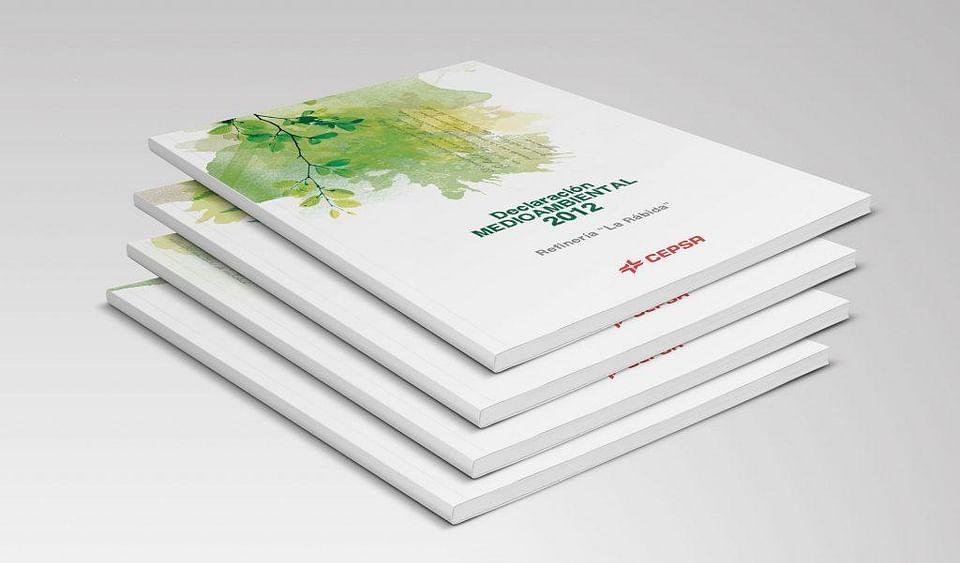 Diseño editorial para Cepsa