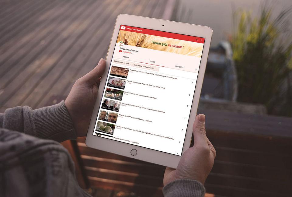Stratégie digitale : PANZANI FOOD SERVICE