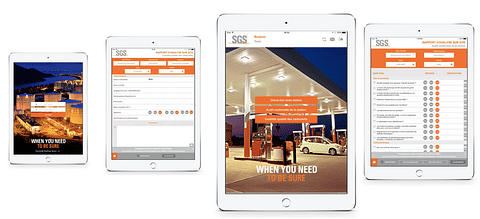 SGS - Solution d'audit (appli mobile et web)