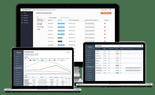 Application Leadersanté | BackOffice - Application mobile