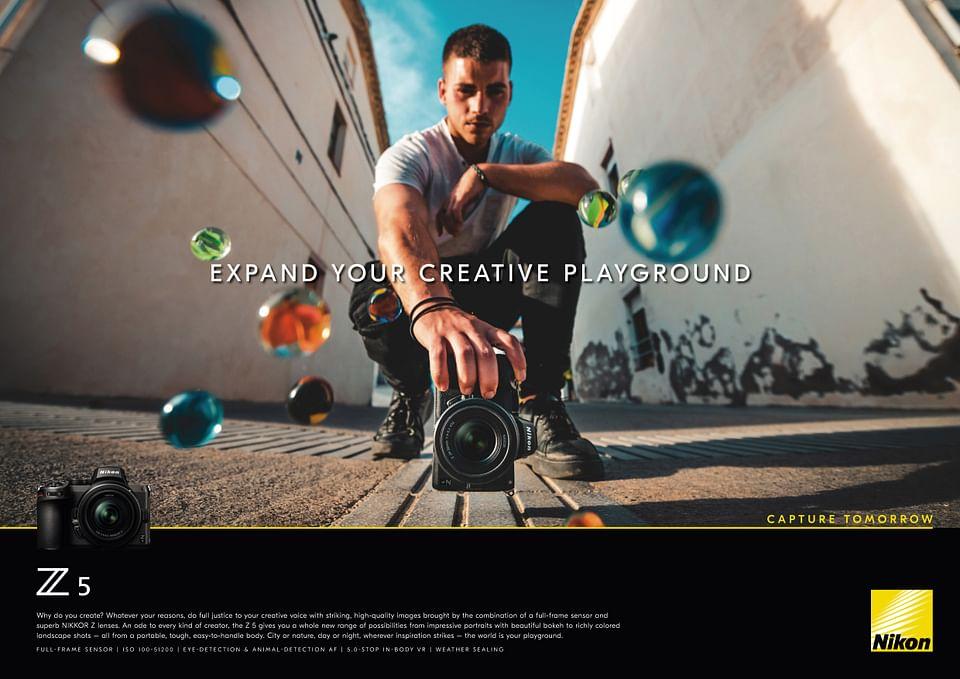 A tribute to all creators (Nikon)