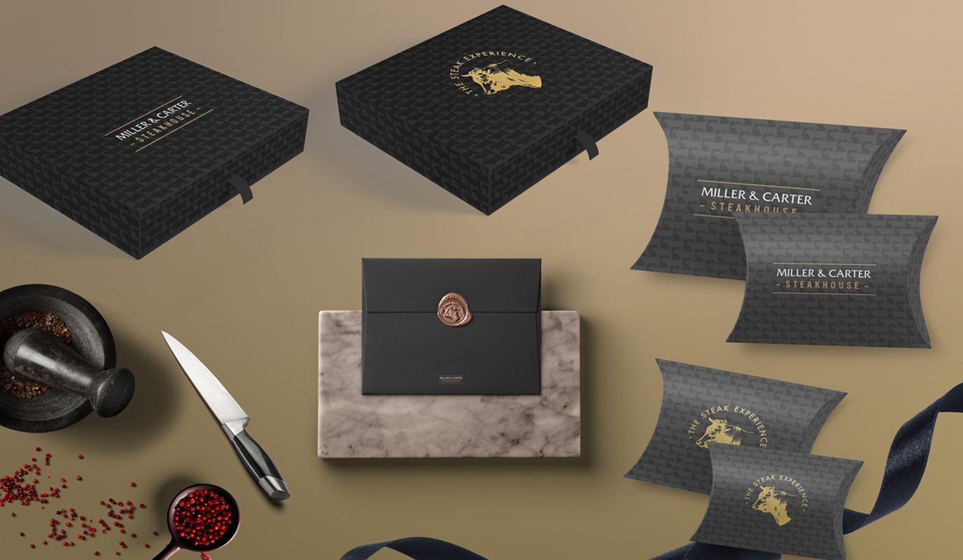 Miller & Carter Steak Houses - Gifting - Branding & Positioning