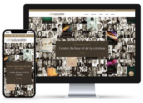 Création du Site Internet Centre du Luxe - Création de site internet