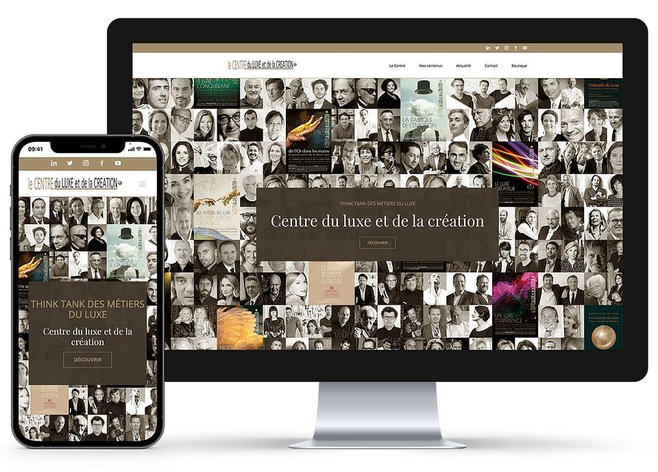 Création du Site Internet Centre du Luxe