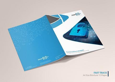 Company Profile Design for Fast Track