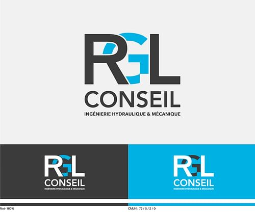 Identité visuelle & plaquette RGL conseil - Image de marque & branding
