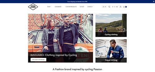 Lancement d'une marque d'accessoires Vélo [e-Shop] - E-commerce